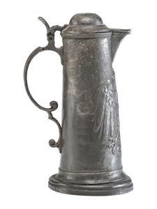 19th Century Pewter Tankard