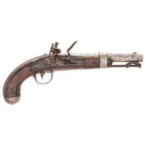 US Model 1836 Flintlock Pistol by Waters