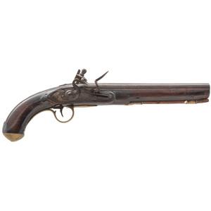 English Flinklock Trade Pistol by W. Ketland
