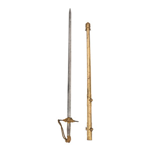 Ames Eagle Pommel Militia Officers Sword