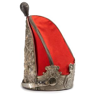 Prussian Garde Regiment Zu Fuss Officer's Grenadier Helmet