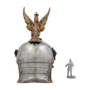 Prussian Liebgendarmerie Helmet with Eagle