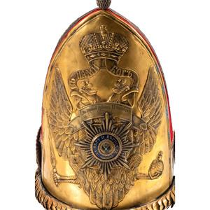 Russian Pavlovsky Grenadier Regiment Officer Helmet