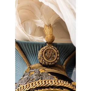 British Victorian 21st Empress of the India's Lancer Officer Helmet