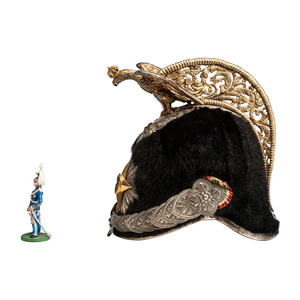 Italian General Officer Helmet with Eagle