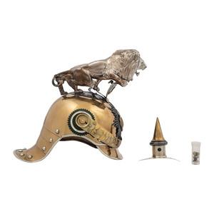 Saxon Garde Reiter Officer M1907 Helmet with Lion