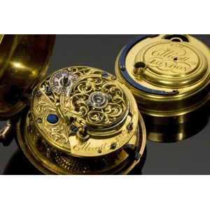 Benjamin Franklin Presentation Pocket Watch to His Nephew Jonathan Williams