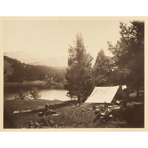 W.H. Jackson Photograph, Hayden Expedition,
