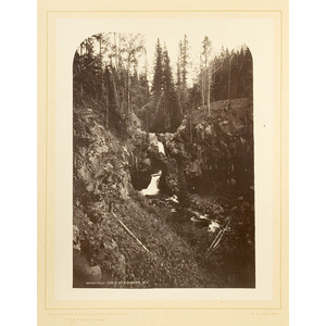 W.H. Jackson Mammoth Plate Photograph, Hayden Expedition,