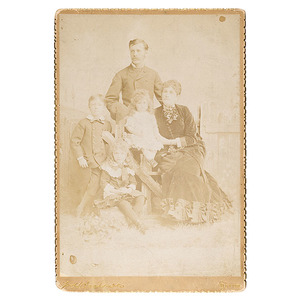 Imperial Photograph of William Henry Jackson and Family,