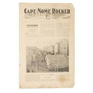 Volume 1, No. 1 The Cape Nome Rocker,