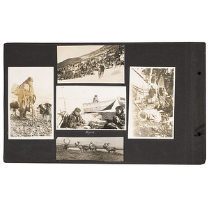 Wonderful Early 20th Century Vernacular Alaskan Photo Album of Capt. Otto C. Dowling, U.S.N.,