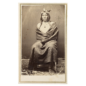 CDV of Santee Sioux Chief,
