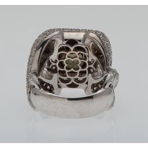 Sarosi Diamond and Andalusite Ring in 18 Karat Gold