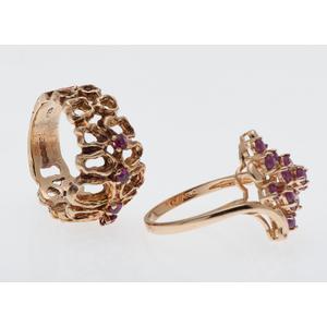 Ruby Rings in Karat Gold