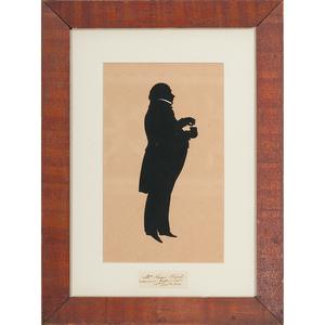 Silhouette of Roger Birch