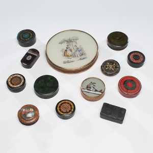 Patch, Snuff and Dresser Boxes