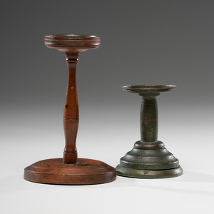 Turned Wood Lamp Stands