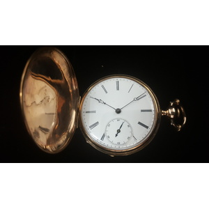G. Reymond Hunter Case Pocket Watch
