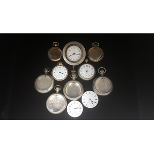 Vintage Pocket Watch Cases and Movements