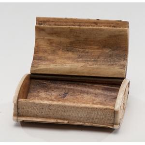 Bone Carved Prisoner Snuff Box
