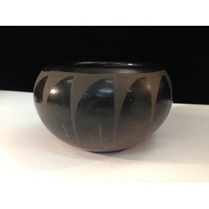 Santa Clara Blackware Bowl