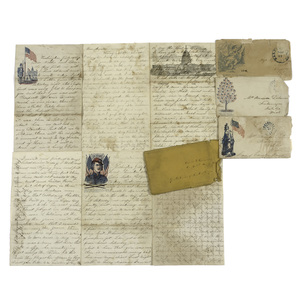 Civil War Letters from Michigan Soldiers and US Colored Troop Officers