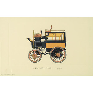 Limited Edition of Automobile Lithographs,