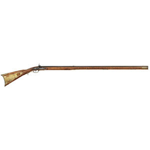 Full-stock Percussion Kentucky Rifle by John Armstrong