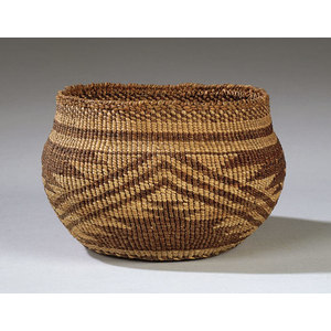 Northern California Twined Basket,