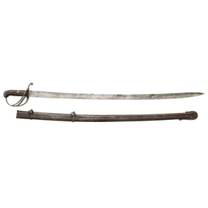 British Pattern 1821 Cavalry Sword Imported By Tiffany & Co.