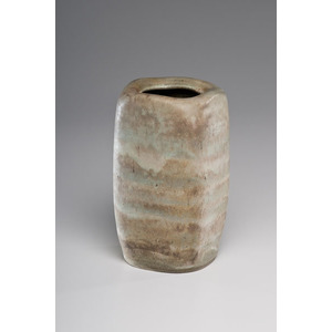 Lucie Rie, Squared Stoneware Vase