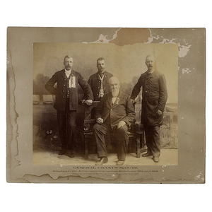 Mammoth Plate Photographs of U.S. Grant's Scouts