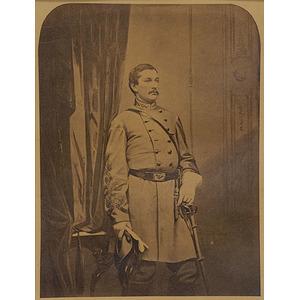 Confederate Raider Harry Gilmor Fine Imperial Photograph