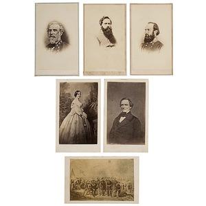 CDV Album of Confederate Generals and Notables