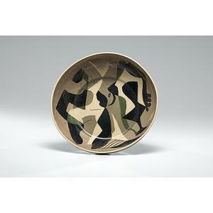 Paul Ninas, Plate with Figures