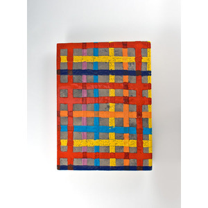 Jun Kaneko, Ceramic Plaid Panel
