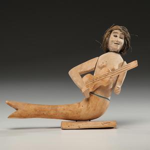 Manuel Jimenez Ramirez (Oaxaca, 1919-2005) Carved Wood Figure From an Arizona Collector