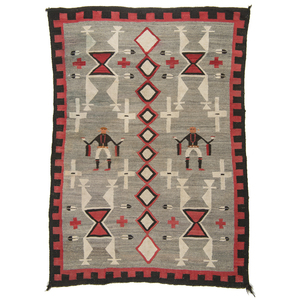 Navajo Pictorial Weaving / Rug From the Collection of Marty Stuart