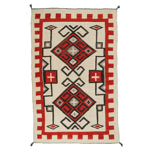 Navajo Western Reservation Weaving / Rug From the Collection of Marty Stuart