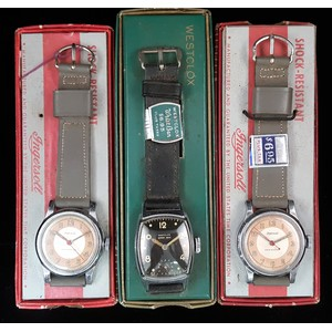 Westclox and Ingersoll New Old Stock Wrist Watches