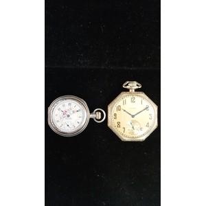 American Waltham Watch Company Sterling Pocket Watch PLUS