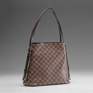 Louis Vuitton Damier Ebene Cabas Rivington Shoulder Bag