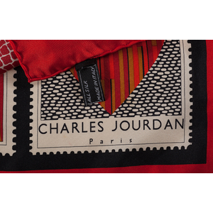 Tiffany & Co. and Charles Jourdan Silk Scarves