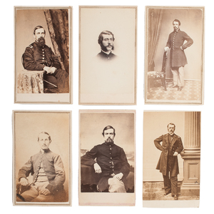 Massachusetts 23rd Volunteer Infantry, Group of 23 Civil War CDVs, Most Identified