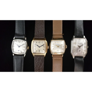 Cyma, Buren, Illinois and Hialeah Wrist Watches