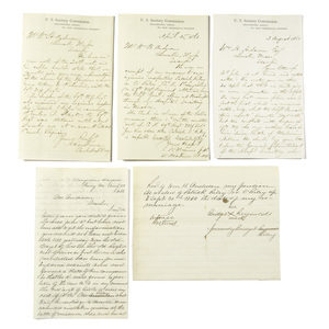 Civil War Letters Concerning Private Patrick O'Riley, 67th NY Vols. or 1st Long Island Co. K, DOW Malvern Hill