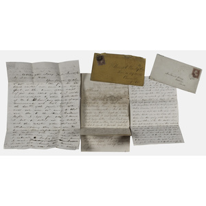 USS Housatonic Paymaster John Wolson ALS, Plus Other Navy Related Letters