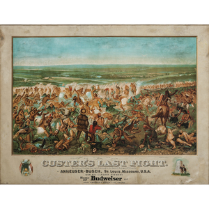 Custer's Last Fight, Anheuser-Busch Chromolithograph