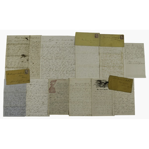 Maine and Maryland Civil War Soldier Letters, Lot of 11